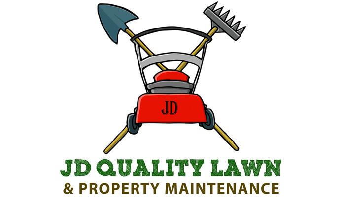 JD lawns logo