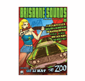 Brisbane Sounds poster