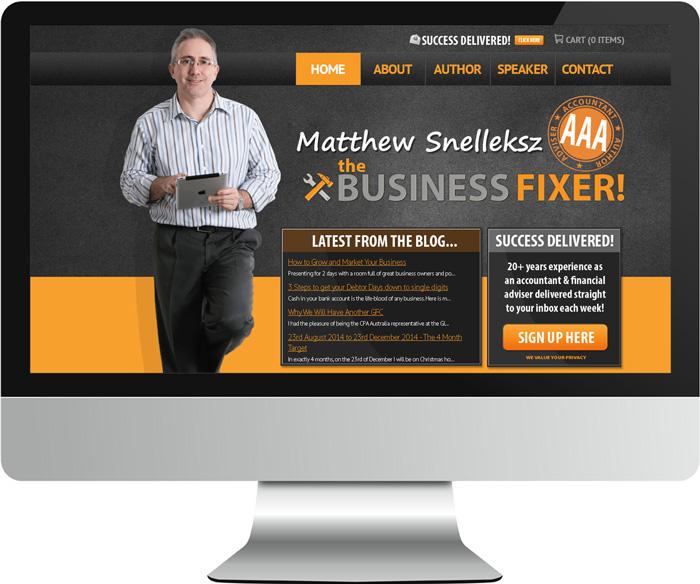 Business fixer website