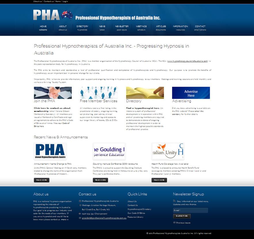 Professional Hypnotherapists Australia