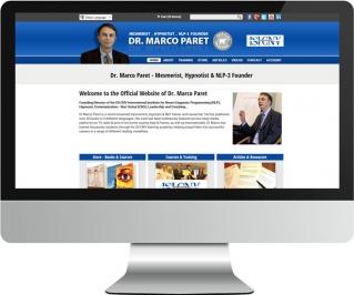Dr Marco Paret website screenshot